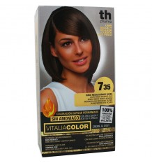 Th Pharma Vitaliacolor Farbstoff 735 Medium Blonde Gold Mahagoni