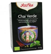 Yogi Tea Masala Chai Verde 17 Saquinhos