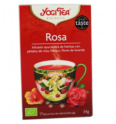 Yogi Tea Rosa 17 Saquinhos