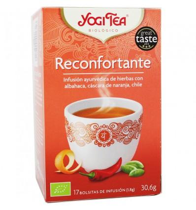Yogi Tea Femme Reconfontarte 17 Sachets