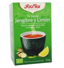 Yogi Tea Grüntee Ingwer-Zitrone, 17 Beutel