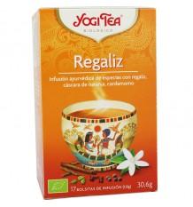 Yogi Tea Alcaçuz 17 Saquinhos