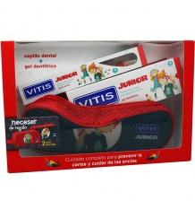 Vitis Junior Brush Gel Strawberry 75 ml Case Pack