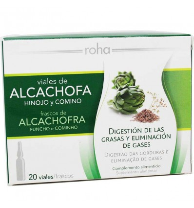 Rocha E Silva Representante Alcachofra 20 Ampolas