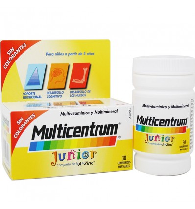 Multicentrum Júnior 30 Comprimidos Mastigáveis