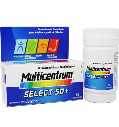 Multicentrum Select 50 90 Tablets