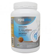 Epaplus Kollagen Hyaluronsäure Magnesium-Vanille-325 g