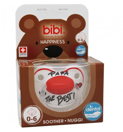 Bibi Soother Silicone Pope is The Best 0-6 months