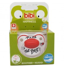 Bibi Soother Silicone Pope is The Best 16 months