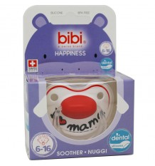 Bibi Soother Silicone I Love Breast 6-16 months