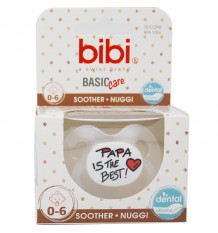 Bibi Chupeta Basic Silicone Papa is The Best 0-6 meses