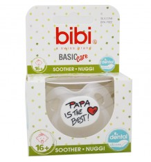 Bibi Chupeta Basic Silicone Papa is The Best 16 meses
