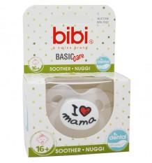 Bibi Nuggi Basic Silikon ich Liebe Brust-16 Monate