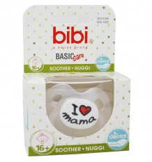 Bibi Soother Basic Silicone I Love Breast 16 months