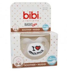 Bibi Chupete Basic Silicona I Love Mama 0-6 meses