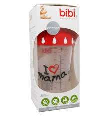 Bibi Biberon Anticolico I Love Mama 350 ml