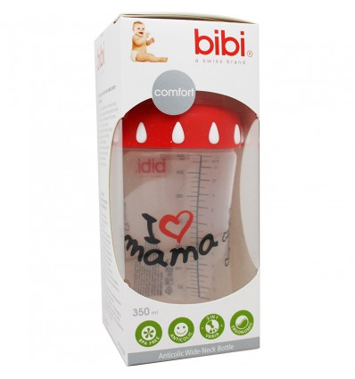 Bibi Biberon Anticolico I Love Mama 350 ml