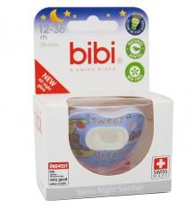 Bibi Chupete Silicona Noche Azul 12-36 meses