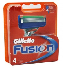 Gillette Fusion Replacement 4 Units