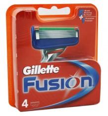 Le Rasoir Fusion De Gillette De Remplacement De 4 Unités