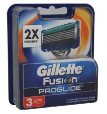Gillette Substituição Fusion Proglide 3 Unidades