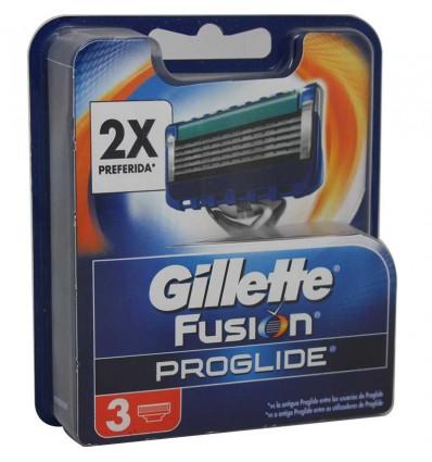 Gillette Recambio Fusion Proglide 3 Unidades