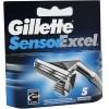 Gillette Recambio Sensor Excel 5 Unidades