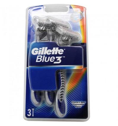 Gillette Maquinilla Blue 3 Unidades