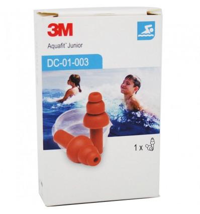 3M Plugs Rubber Water Junior Aquafit