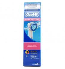 Peças De Reposição Oral B Sensi Ultra Thin 3 Unidades