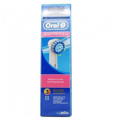 Recambios Oral B Sensi Ultra Thin 3 Units