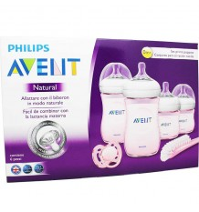 Avent Natural Set Neugeborenen-Pink