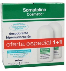 Somatoline Deodorant Hipersudoración Roll-on 30ml Duplo