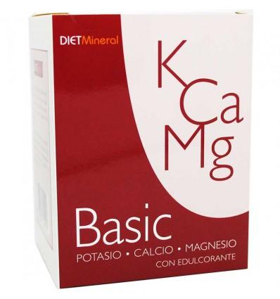 Dietmineral Basic Magnesio Calcio Potasio 14 Sobres