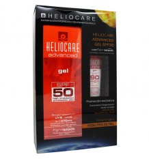 Heliocare 50 Gel 200 ml Regalo Gel gel Spf90 25 ml
