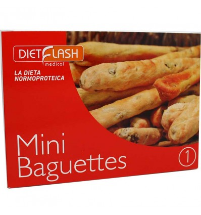 Dietflash Mini Baguettes 66 g