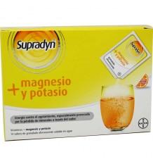 Supradyn magnésio potássio 14 envelopes laranja