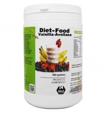 - Diät-Lebensmittel-Vanille-Haselnuss-500 g Nale