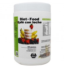 Diet Food Batido Cafe con Leche 500 g Nale