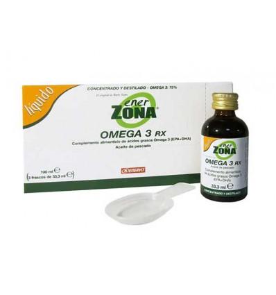 Enerzona Omega 3 Rx Liquido 3 x 33 ml