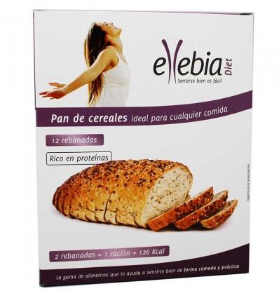 Ellebia Diet Pan Cereales Caja 12 Rebanadas