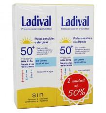 Ladival Duplo Peles Sensíveis Gel Creme 75 ml