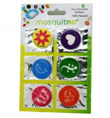 Mosquitno 6 Parches Stickers Antimosquitos