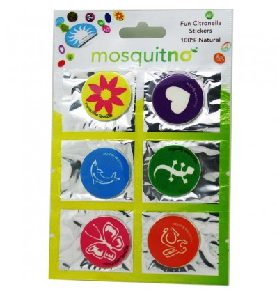 Mosquitno 6 Patches Stickers Repelente