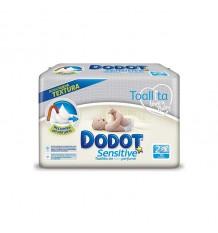 Dodot Wipe Sensitive 108 Units
