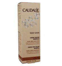 Caudalie Teint Divin Cream Color With Dark Skin