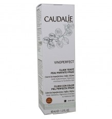 Caudalie Vinoperfect Fluido Color Piel Perfecta Spf20 Meduim 40 ml