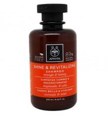 Apivita Shampoo Helligkeit Vitalität 250 ml