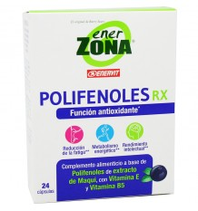 Enerzona Polifenóis Rx 24 cápsulas