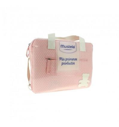 Mustela Bolsa Canastilla Mis Primeros Productos Rosa